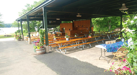 Quassy Lakeside Catering Pavilion
